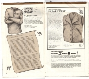 Banana Republic Catalog No.10 Holiday 1982 Yukon Shirt, Banana Republic Shirt, Safari Vest