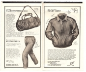 Banana Republic Catalog No.10 Holiday 1982 Globetrotter Bag, Rugby Shirt, Rugby Pants