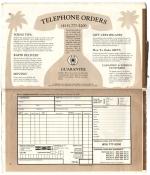 Banana Republic Catalog No.10 Holiday 1982 Order Form