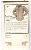 Banana Republic Catalog No.10 Holiday 1982 Italia Paratrooper Shirt