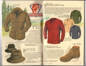 Banana Republic Catalog #34 Holiday 1987 Field Jacket, Roll-Up Hat, Swedish Army Shirt, Trekking Boots