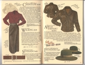 Banana Republic Catalog #34 Holiday 1987 Chanteuse Shirt, Leather Walking Skirt, Amelia Earhart Jacket, Incognito Hat