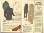 Banana Republic Catalog #34 Holiday 1987 Fog City Turtleneck, Traveling Shoes, Chino Trousers