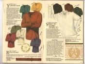Banana Republic Catalog #34 Holiday 1987 Yukon Shirt, Ranch belt, Old English Wildlife Engraving t-shirts