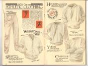 Banana Republic Catalog #34 Holiday 1987 Athletic Clothing
