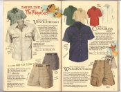 Banana Republic Catalog #34 Holiday 1987 Ventilated Shirt, Expedition Shorts, Costa Brava Shirt, Walkabout Shorts