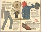 Banana Republic Catalog #34 Holiday 1987 Banana Republic T-Shirt, All-Terrain Pants, Naturalist's Shirt, Safari Shoes