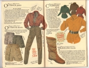 Banana Republic Catalog #34 Holiday 1987 Women\'s Outback Pants, Women\'s Outback  Shorts, Coleroon Shirt, Traveling Boots
