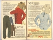 Banana Republic Catalog #34 Holiday 1987 Lodge Shirt, Rogue Pants, White-Collar Shirt