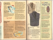 Banana Republic Catalog #34 Holiday 1987 Banana Republic Catalog #34 Holiday 1987 Gift Book Selector, Bush Vest