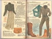 Banana Republic Catalog #34 Holiday 1987 Kenya Pioneer\'s Shirt, Essential Bag, Expedition Flightsuit, Ranch Boots