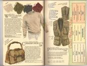 Banana Republic Catalog #34 Holiday 1987 Whole Grain Sweater, Correspondent\'s Bag, Photojournalist Vest
