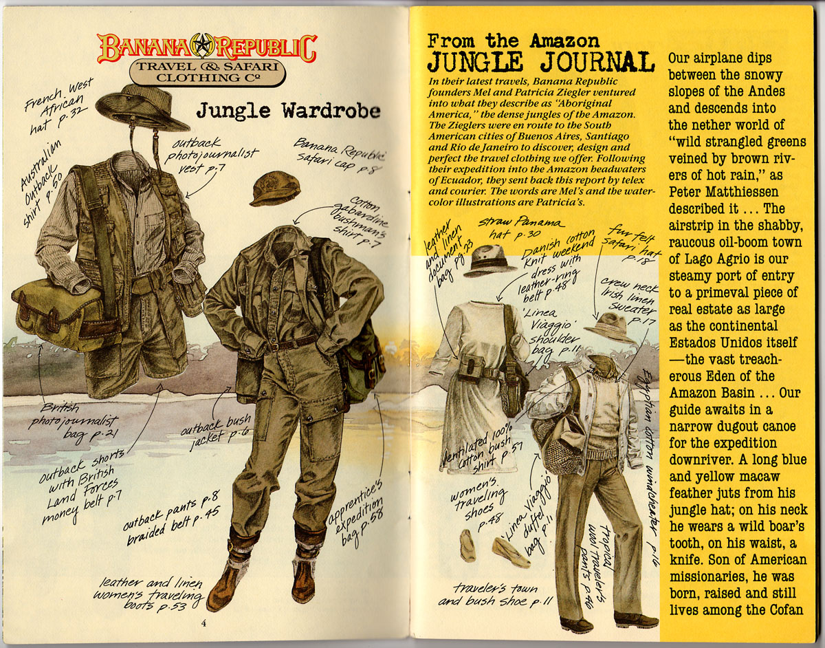 Catalog 22 Spring 1985 Into The Amazon With Mel And