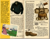Banana Republic Catalog #22: Spring 1985 Officer's Wool Jacket, Linea Viaggio Bags, Town and Bush Shoe