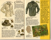 Banana Republic Catalog #22: Spring 1985 Chamois Shirt, Fur Felt Safari Hat, Safari Shirt
