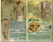 Banana Republic Catalog #22: Spring 1985 Safari Jacket, Safari Pants, Safari Vest, Photojournalist's Bag