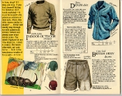 Banana Republic Catalog #22: Spring 1985 Indoor-Outdoor Sweater, Sierra Denim Shirt, British Army Shorts