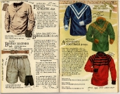 Banana Republic Catalog #22: Spring 1985 Italian Athletic Shirt, English Bridle Belt, Bersaglieri Shorts, Australian Football Jerseys
