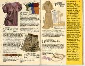 Banana Republic Catalog #22: Spring 1985 Le Shirt, Sierra Leone Shorts, Leather Buckle Belt, Tropical Dress Ox Horn Bracelets