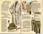 Banana Republic Catalog #22: Spring 1985 Handcrafted Raincoat, Traveler\'s Roll-Up Hat, Writer\'s Vest, Braided Belt, Khaki Trousers