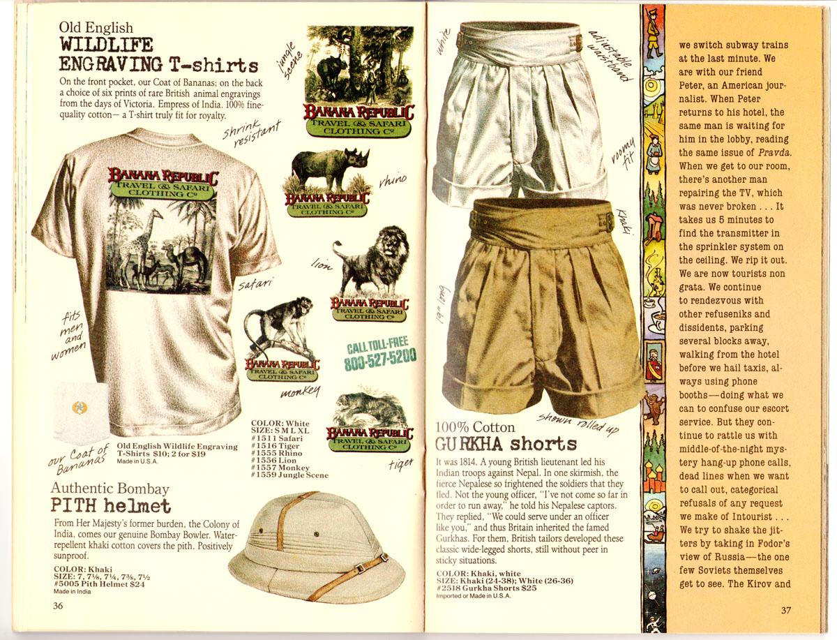 Vintage Safari Clothing