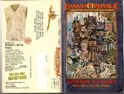 Banana Republic #27 Spring 1986 Soviet Safari with Mel and Patricia Ziegler, French Wool Vest