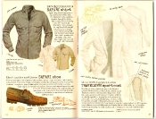 Banana Republic #27 Spring 1986 Safari Shirt, Safari Shoe, Traveler's Sport Coat