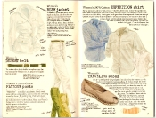 Banana Republic #27 Spring 1986 Women's Bush Jacket, Desert Belt, Fatigue Pants, Expedition Shirt, Traveling Shoes