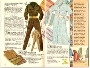 Banana Republic #27 Spring 1986 Flightsuit, Bandanas, Carioca Dress