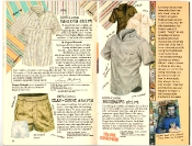 Banana Republic #27 Spring 1986 Carioca Shirt, Clay-Court Shorts, Bushman's Shirt