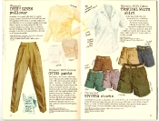 Banana Republic #27 Spring 1986 Irish Linen Pullover, Women's Chino Pants, Women's Tropical White Shirt, Riviera Shorts