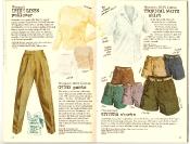 Banana Republic #27 Spring 1986 Irish Linen Pullover, Women\'s Chino Pants, Women\'s Tropical White Shirt, Riviera Shorts