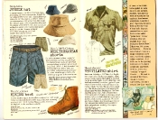 Banana Republic #27 Spring 1986 Jungle Hat, Mediterranean Shorts, Hiking Boot, Ventilated Shirt