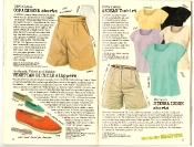 Banana Republic #27 Spring 1986 Copacabana Shorts, Venetian Bicycle Slippers, Aegean T-shirt, Sierra Leone Shorts