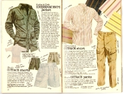 Banana Republic #27 Spring 1986 Correspondent's Jacket, Outback Shorts, Outback Shirt, Outback Pants