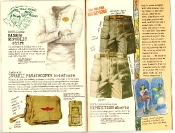 Banana Republic #27 Spring 1986 Banana Republic Shirt, Israeli Paratrooper Briefcase, Expedition Shorts