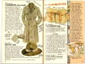 Banana Republic #27 Spring 1986 Traveler's Raincoat, Safari Hat, Mr. Brady's Traveler's Bag