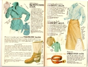 Banana Republic #27 Spring 1986 Equestrienne Shirt, Traveling Boots, Serengeti Shirt, Serengeti Skirt