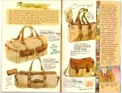 Banana Republic #27 Spring 1986 Linea Viaggio Bags