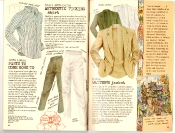 Banana Republic #27 Spring 1986 Ticking Shirt, Pants To Come Home To, Italian Waiter\'s Jacket