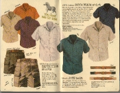 Banana Republic Summer 1986 No. 28, Costa Brava Shirt, Expedition Shorts, Men's Jute Belt