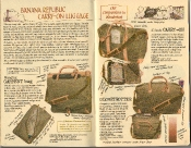 Banana Republic Summer 1986  No. 28 Carry On Luggage