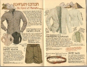 Banana Republic Summer 1986 No. 28 Egyptian Cotton, Money Belt, Safari Shirt, Safari Shorts, Traveler's Sportcoat