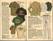 Banana Republic Summer 1986 No. 28 Apocryphal Affiliates Shirts, Italian Waiter\'s Jacket, Lawn Bowling Trousers,  Ivory Coast Tennis, Bengal Bridge Club, Congo Cricket Club, Botswana Lawn Bowling League