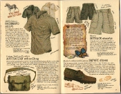 Banana Republic Summer 1986 No. 28 Bushman's Shirt, Australian Schoolbag, Men's Outback Shorts, Men's Safari Shoes