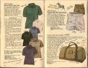 Banana Republic Summer 1986 No. 28 No-Polo Shirt, Clay Court Shorts, Grip, Roy Blount Jr. Testimonial