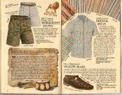 Banana Republic Summer 1986 No. 28 Bersaglieri Shorts, Carioca Shirt, Men\'s Walking Shoes, Arthur Ashe Travelogue