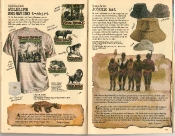 Banana Republic Summer 1986 No. 28 Old English Wildlife Engraving Shirts, Jungle Hat, Evelyn Waugh and Isak Dineson Travelogue