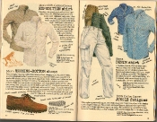Banana Republic Summer 1986 No. 28 Expedition Shirt, Running Bottom Shoes, Sierra Denim Shirt, Jungle Fatigues