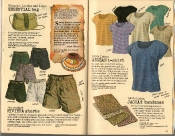 Banana Republic Summer 1986 No. 28 Women's Essential Bag, Riviera Shorts, Aegean Shirt, Jaguar Bandana